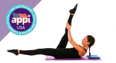Reformer On The Mat With The Tube Band Online Appi America