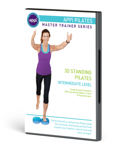 NEW APPI Standing Pilates DVD - Intermediate