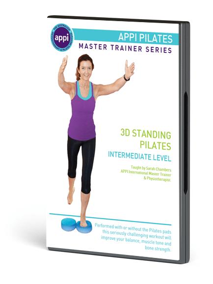 NEW APPI Standing Pilates DVD - Intermediate