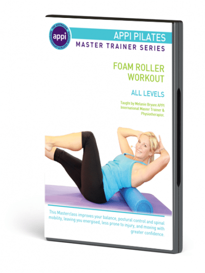 NEW APPI Pilates with the Foam Roller DVD