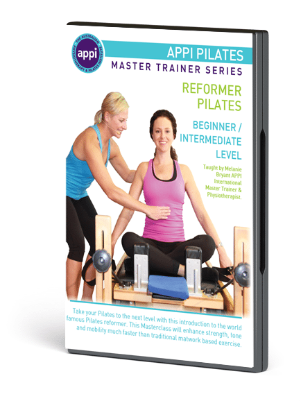 NEW APPI Reformer Pilates DVD - Beginner Intermediate