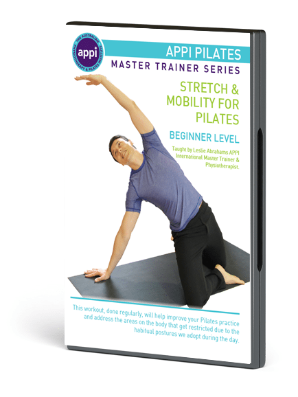 NEW APPI Stretch & Mobility for Pilates DVD - Beginner