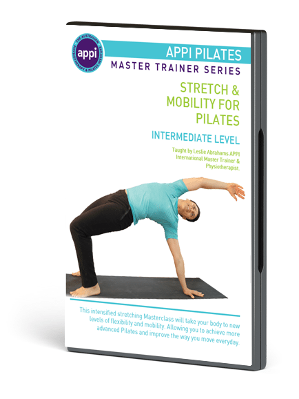 NEW APPI Stretch & Mobility for Pilates DVD - Intermediate