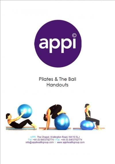 APPI Pilates & the Ball Handouts